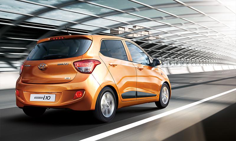 Hyundai Grand i10 México color naranja