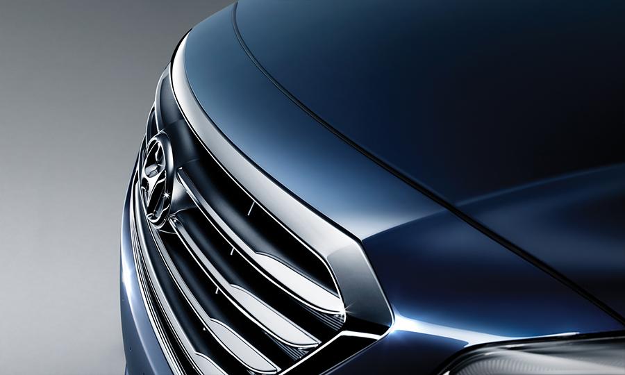 Hyundai Sonata 2017 en México parrilla frontal
