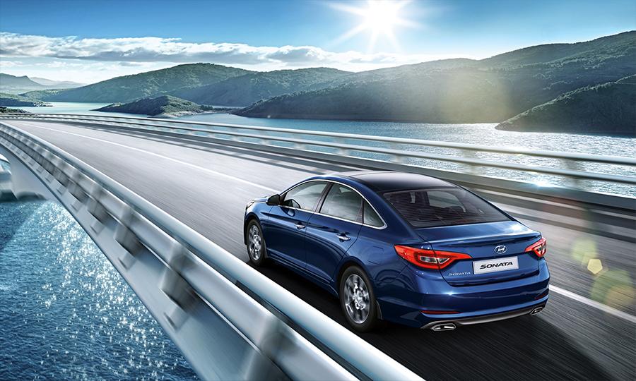 Hyundai Sonata 2017 en México en carretera