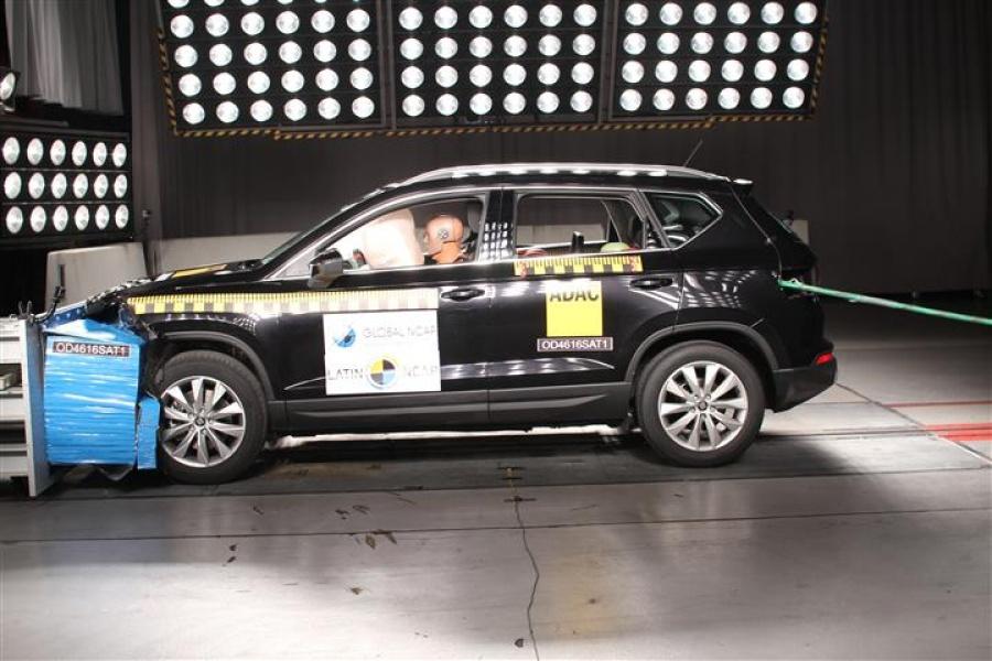 Prueba Latin NCAP en SEAT Ateca