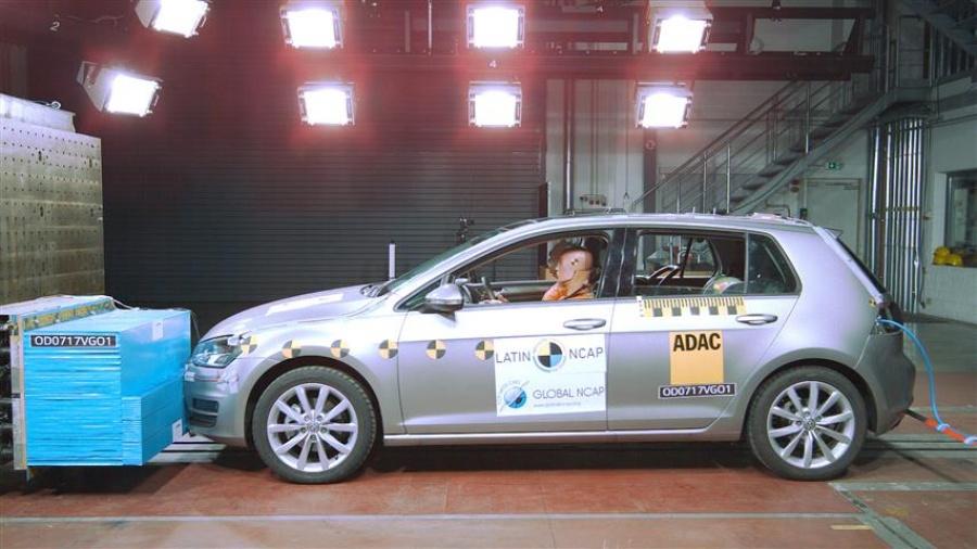 Prueba Latin NCAP en Volkswagen Golf VII