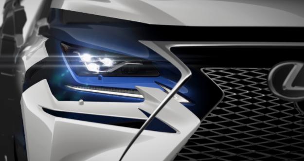 Lexus NX 2018 renovado detalle