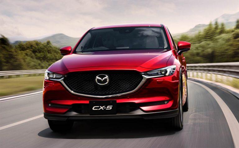 Mazda CX-5 en México nuevo color rojo