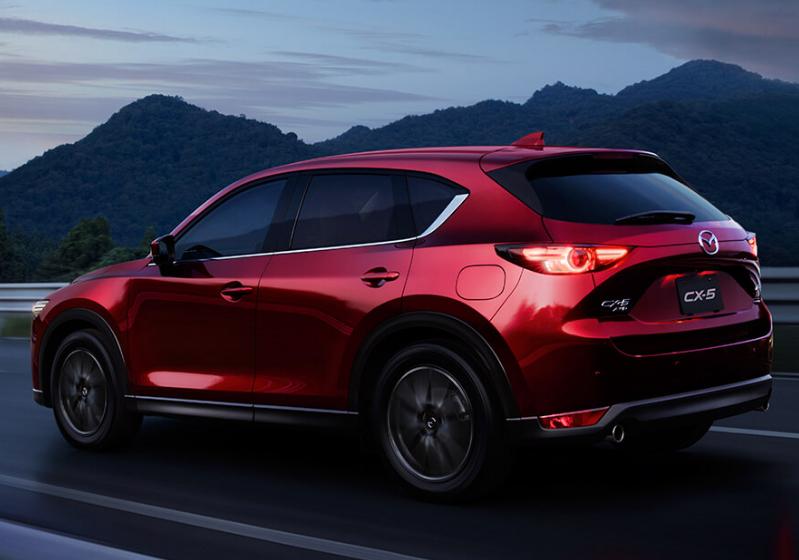 Mazda CX-5 2018  en México posterior renovado