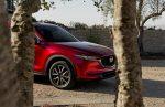 Mazda CX-5 2018 en México frente entre árboles