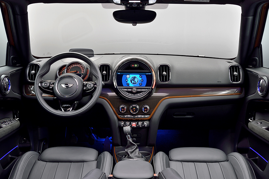 MINI Countryman Cooper S Chili y S Port 2018 en México interiores