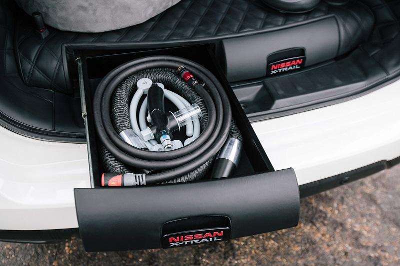 Nissan X-trail 4Dogs Para Perros Cajón especial