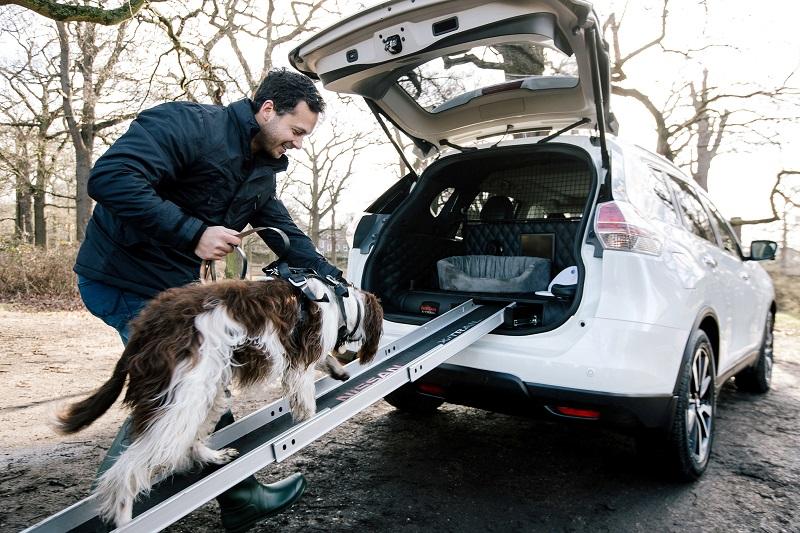 Nissan X-trail 4Dogs Para Perros Rampa