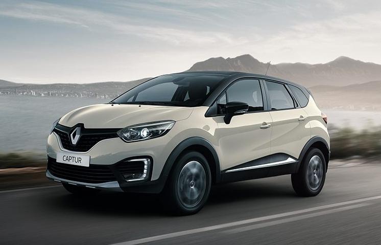 Renault Captur 2018 México exterior en carretera