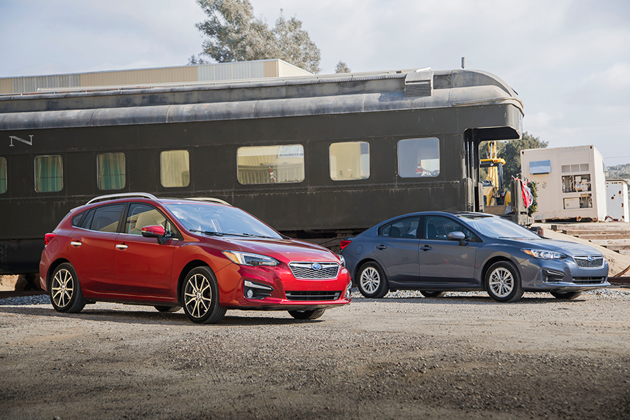 Subaru Impreza 2017 en México, sedan y hatchback