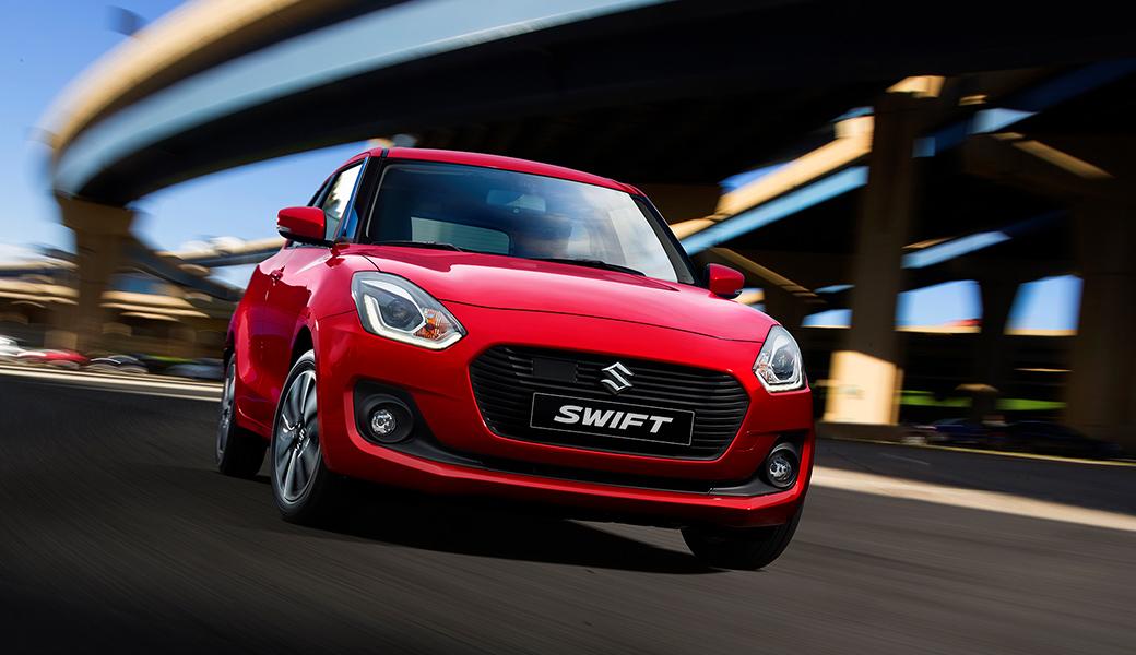 Suzuki Swift 2018 nuevo diseño frontal