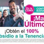 Concluye Subsidio a la Tenencia 2017 en CDMX el viernes 31 de marzo