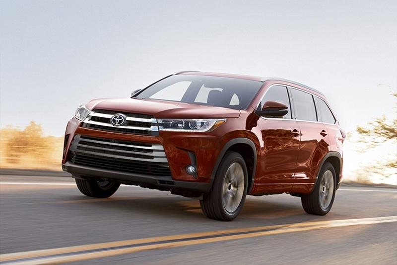 Toyota Highlander 2017 en México color rojo