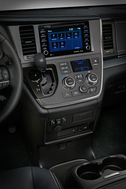 Toyota Sienna 2018 nueva tecnología interior - Autos Actual México