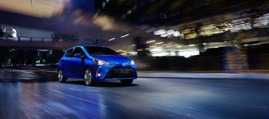 Toyota Yaris 2018 renovado diseño exterior