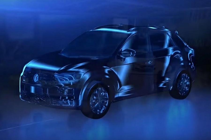 Volkswagen pequeño SUV basado en T-Roc filtración