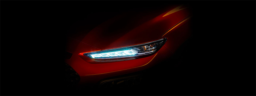 Hyundai Kona oficial imagen teaser
