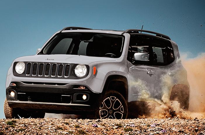 Jeep Renegade 2017 México en camino sinuoso