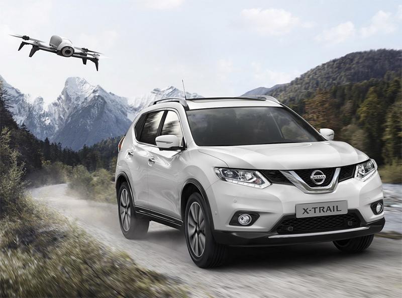 Nissan X-Trail X-Scape Edition con su Drone