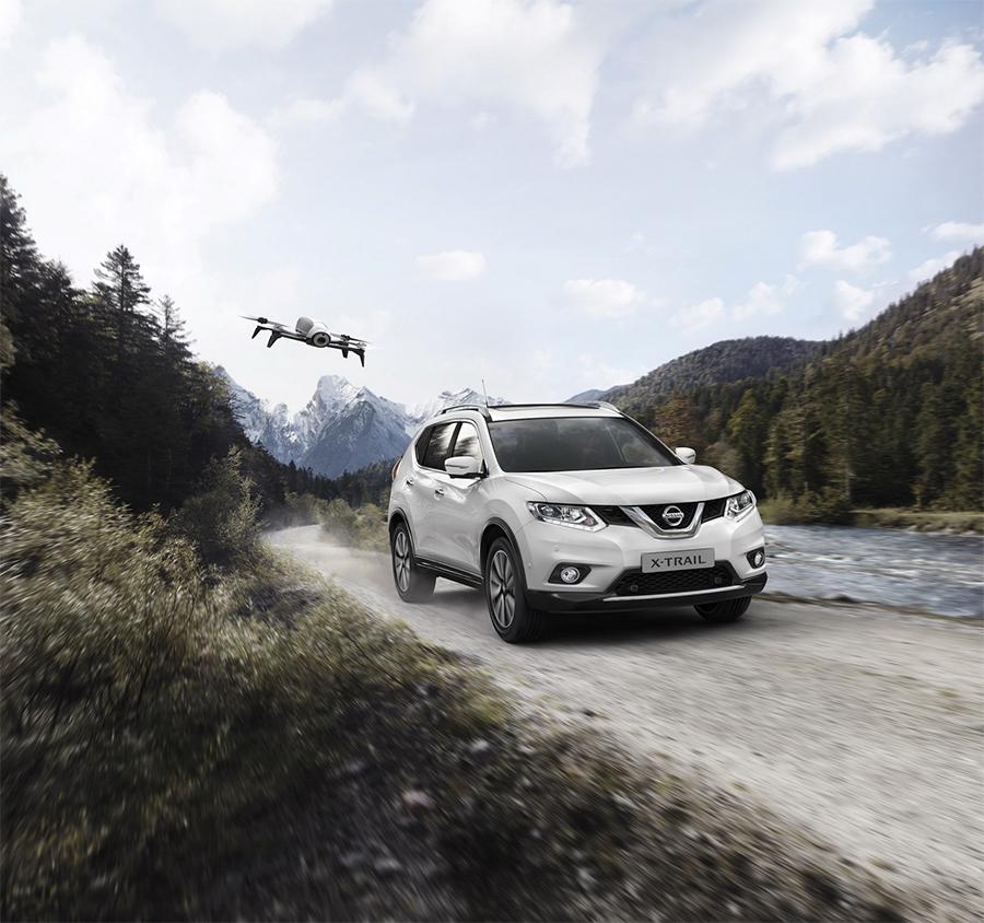 Nissan X-Trail X-Scape Edition con su Drone de serie