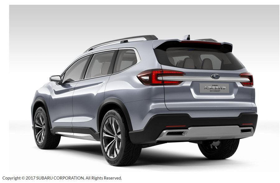 Subaru Ascent 2018 concepto
