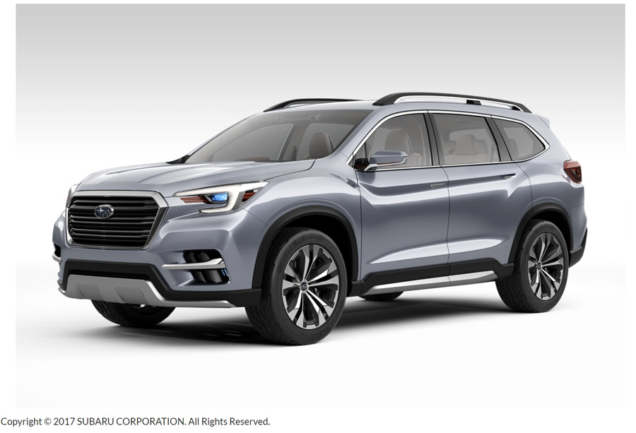 Subaru Ascent 2018 concepto lateral