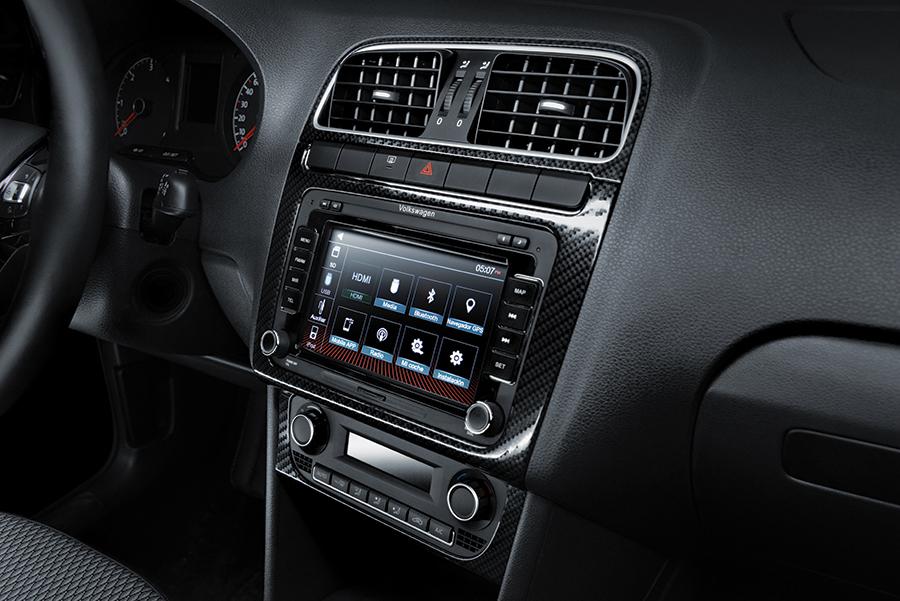 Nuevo Volkswagen Vento TDI 2018 en México pantalla touch interior