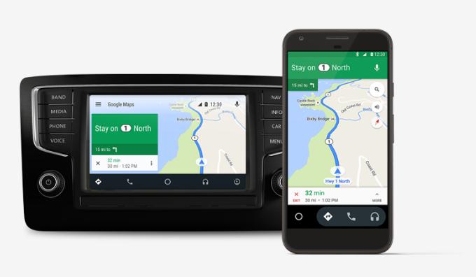 Nueva aplicación Android Auto de Google