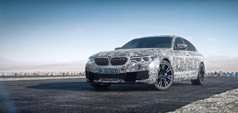 Próximamente BMW M5