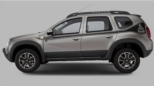 Renault Duster Dakar 2018 costado