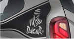 Renault Duster Dakar 2018 sticker