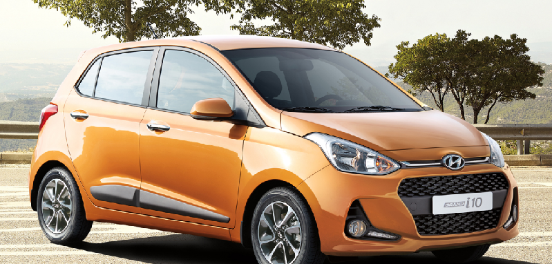 hyundai grand i10 2018 con renovado dise o ya en m xico precios y versiones autos actual m xico. Black Bedroom Furniture Sets. Home Design Ideas