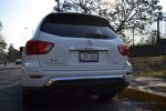 Nissan Pathfinder 2017 prueba en la CDMX por Autos actual posterior placas