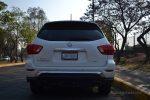 Nissan Pathfinder 2017 prueba en la CDMX por Autos actual posterior placas y faros