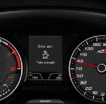 SEAT León CUPRA 2017 sensor de fatiga