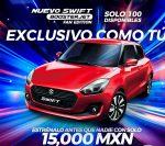 Suzuki Swift 2018 BoosterJet Fan Edition México aparta el tuyo