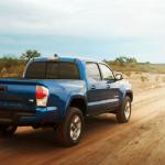 Toyota México llama a revisión a 7,363 Tacoma 2016-2017