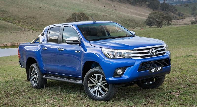 Toyota manda llamar a revisión a Hilux 2016