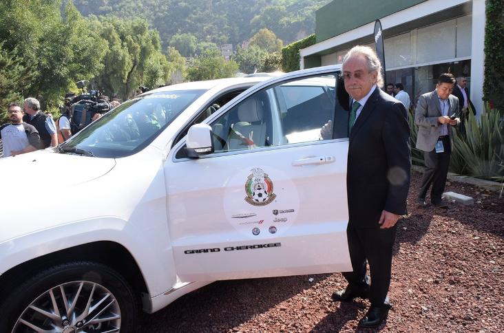 Jeep Vehículo oficial de la Selección Mexicana