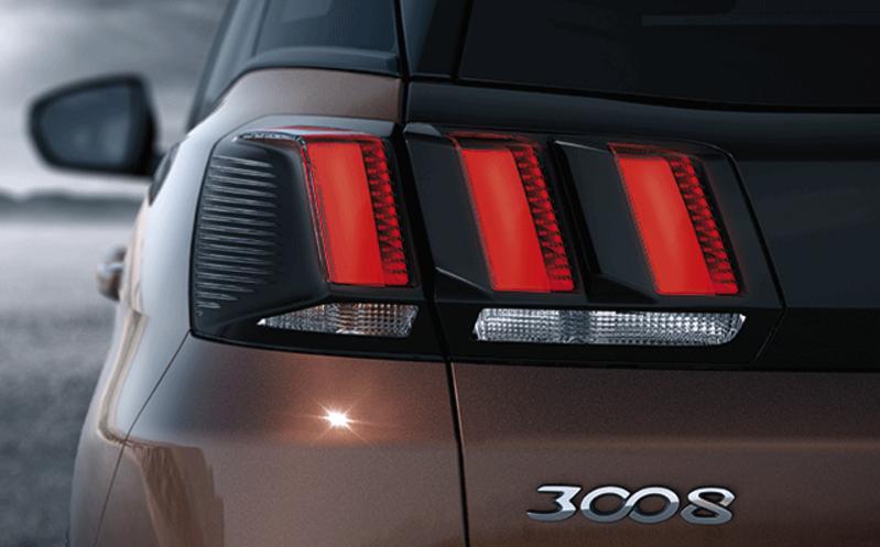 Peugeot 3008 2018 faros