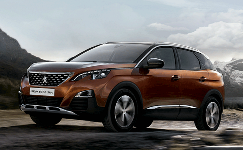 peugeot 3008 2018 llega a m xico precios y versiones autos actual m xico. Black Bedroom Furniture Sets. Home Design Ideas