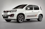Fiat Uno 2018 con Live On ya en México de perfil