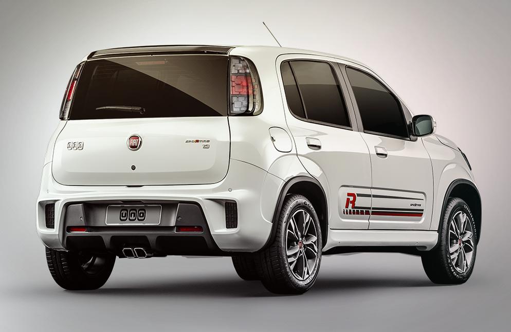 Fiat Uno 2018 con Live On ya en México posterior