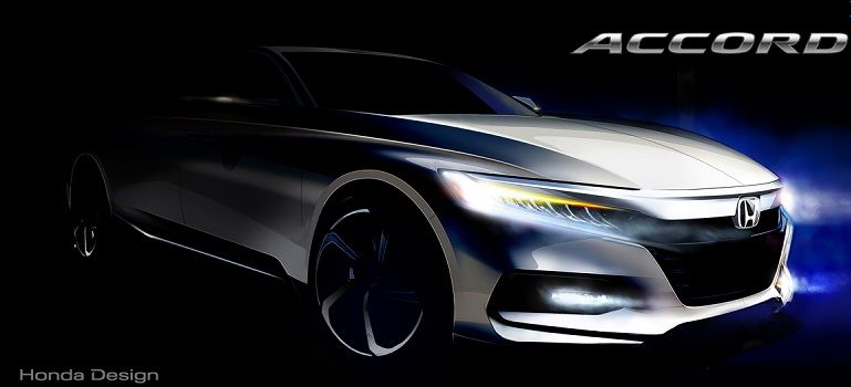 Honda Accord 2018 prototipo