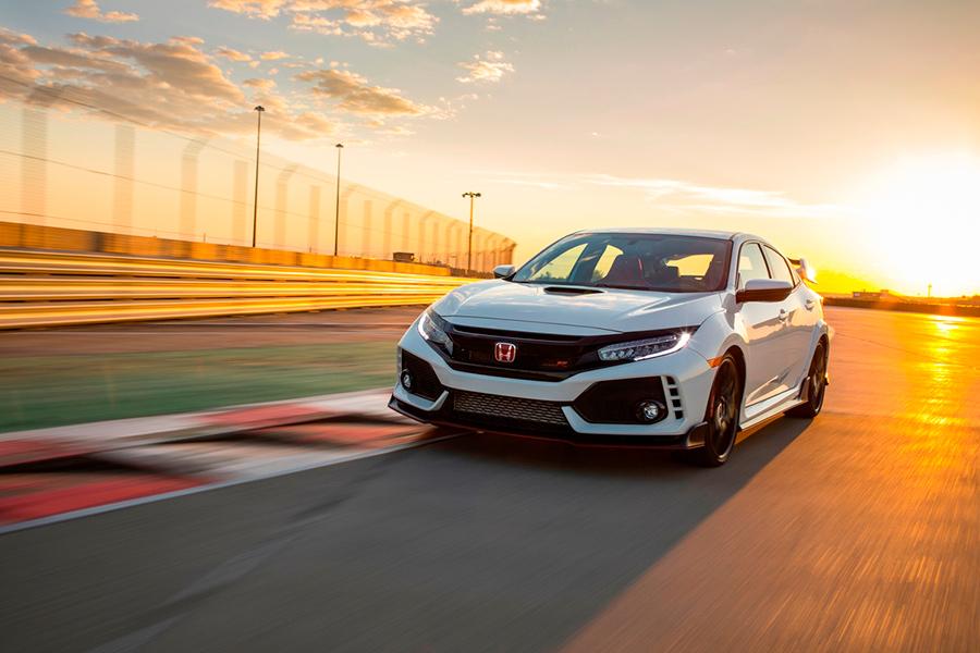 El Honda Civic Type R 2017 en México en pista