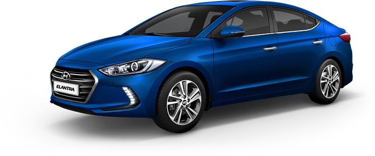 Hyundai Elantra 2018 en México color azul