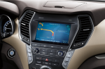 Hyundai Santa Fe 2018 pantalla