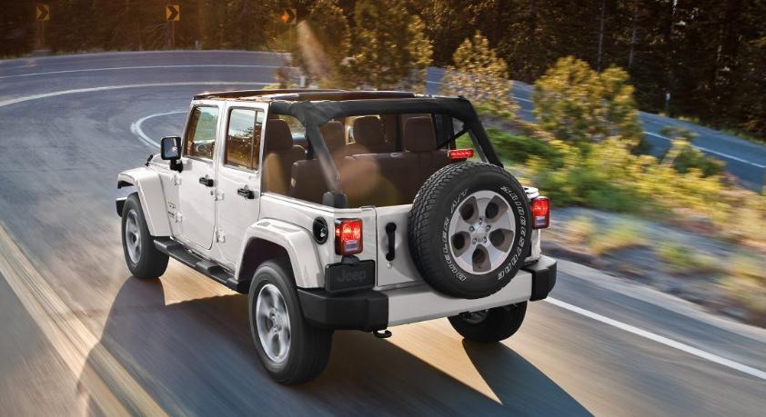 Jeep Grangler Rubicon Recon 2017