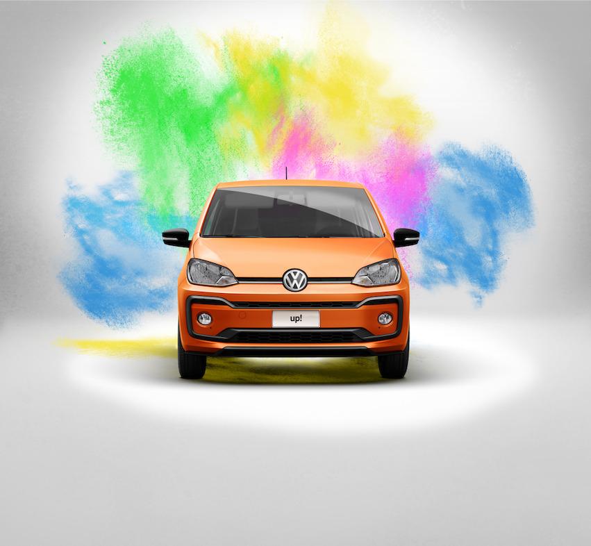 Volkswagen up! connect 2018 en México exterior frente