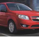 Llegará a México el Aveo 2018 de Chevrolet más seguro que nunca